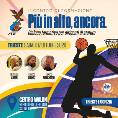 """""""Più in Alto, Ancora""""   Anche il Basket Fvg forma i propri dirigenti con la City Sport Academy"""