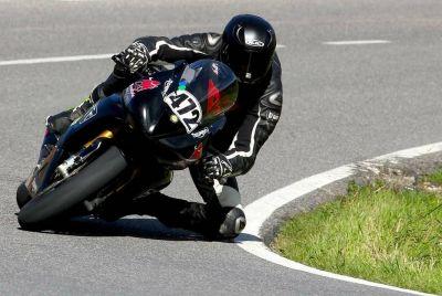 Velocità in salita, Stolli vice campione italiano sulle due ruote