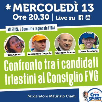 Candidati consiglieri FVG a confronto: alle 20.30 la diretta