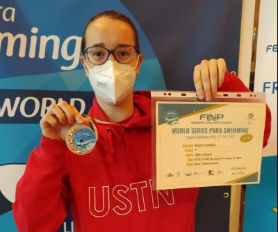 Per Giorgia Marchi nuovo record italiano nel nuoto paralimpico