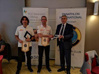 Panathlon: ritorno al conviviale celebrando gli eroi giuliani di Luna Rossa