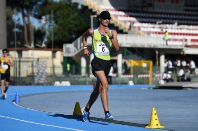 Brigante è d'oro agli Italiani juniores di marcia