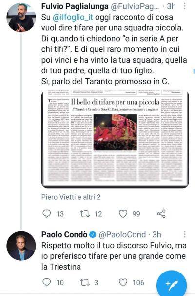 """Paolo Condò e l'Unione tra le """"grandi"""""""