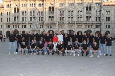 Presentata la Pallamano Trieste 2021-2022