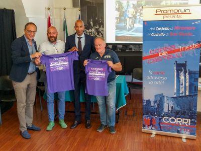 Presentata la 5ª Corsa dei Castelli nel segno della solidarietà per il Burlo